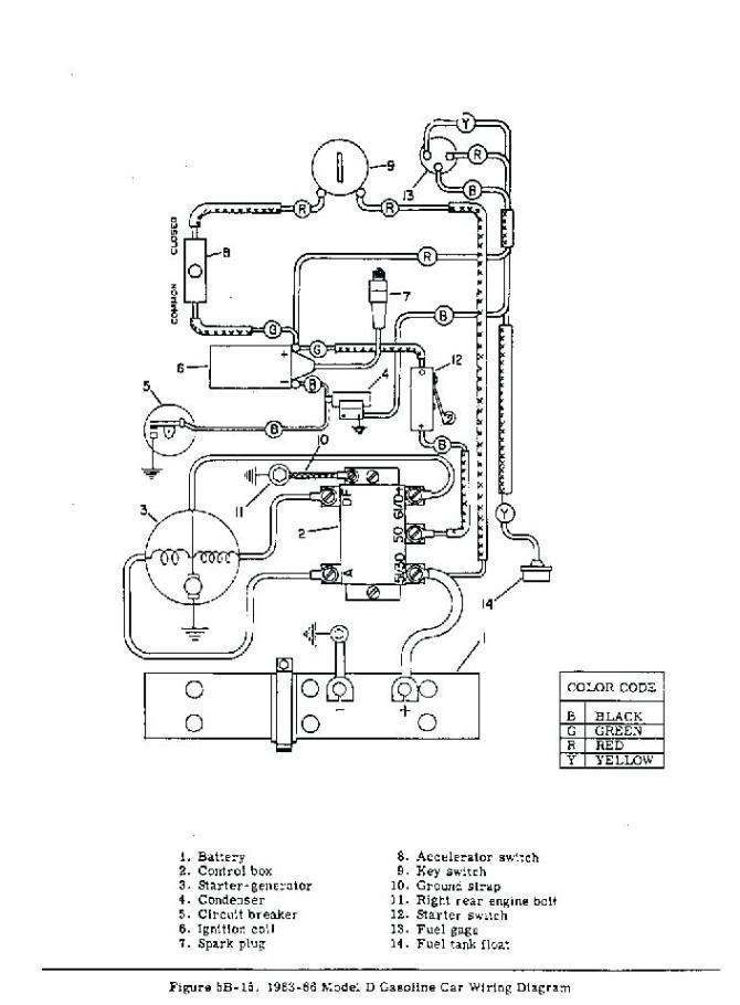 taylor dunn golf cart wiring diagram  wall phone jack