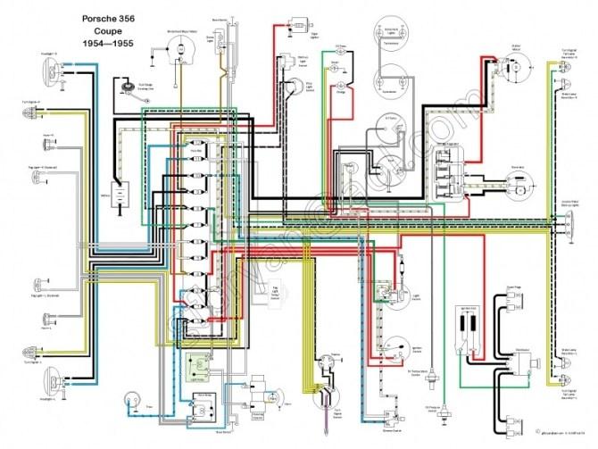 1955 porsche wiring diagram  filter wiring diagrams nut