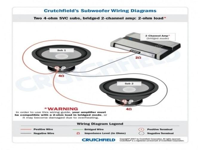 wiring diagram subwoofer wire svc 2 ohm chrysler sebring