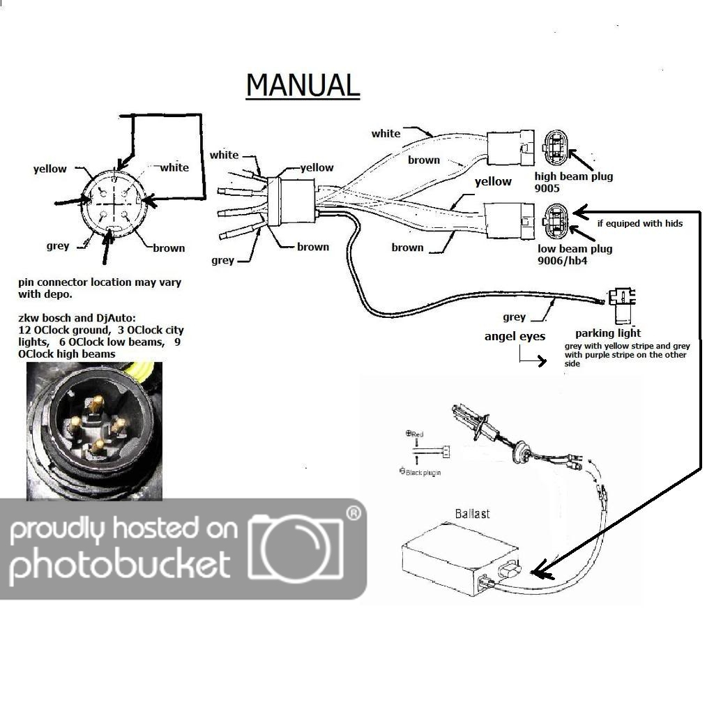 Fg E36 Headlight Wiring Diagram Free Diagram