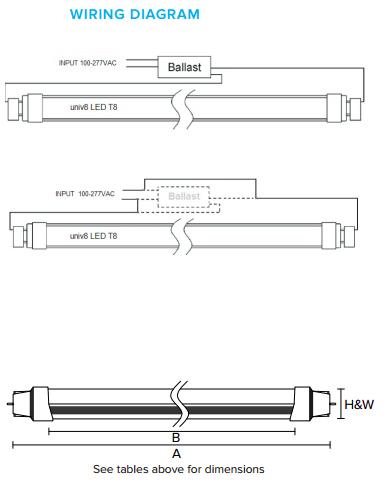 ga5527 fluorescent ballast wiring diagram as well t5