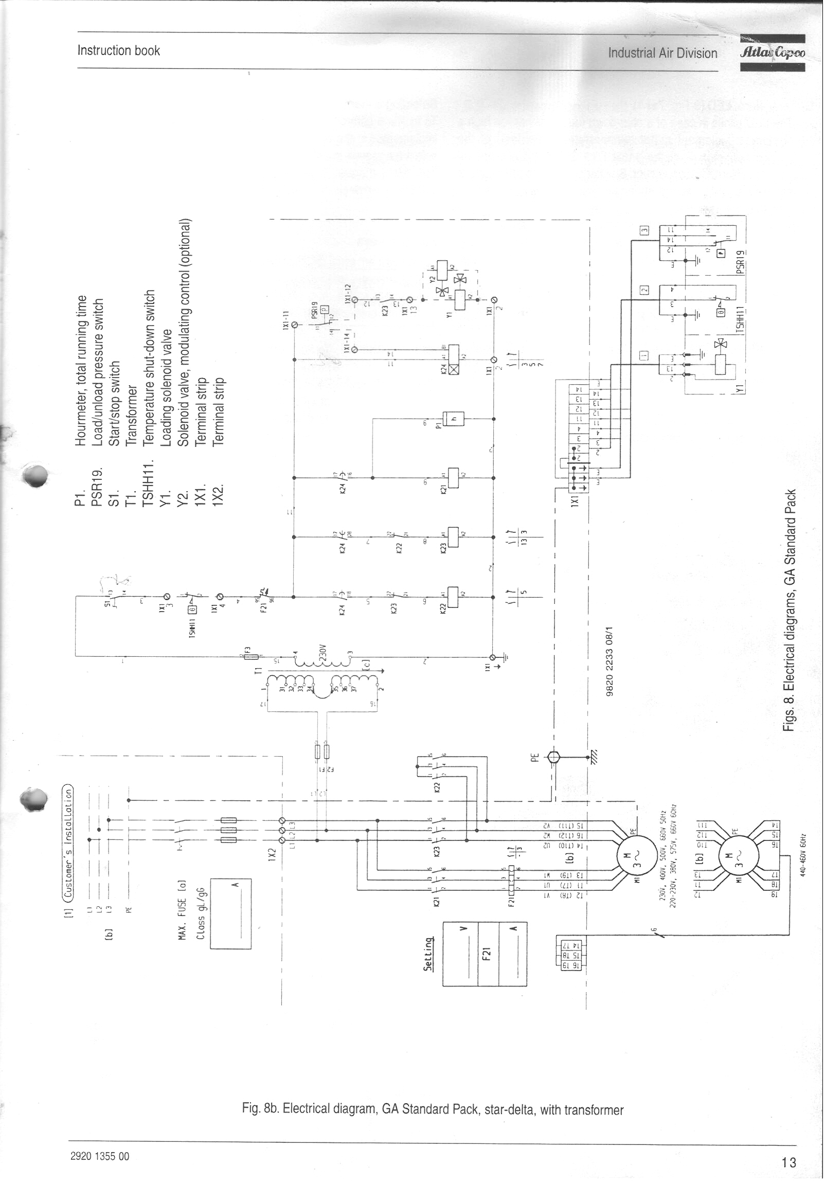 Ah Atlas Copco Wiring Schematic Wiring Diagram