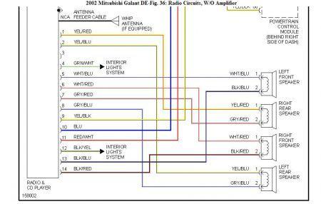 wiring diagram for 2004 mitsubishi galant  auto wiring
