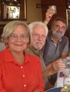 Margie Barclay and friends in Oaxaca, Mexico