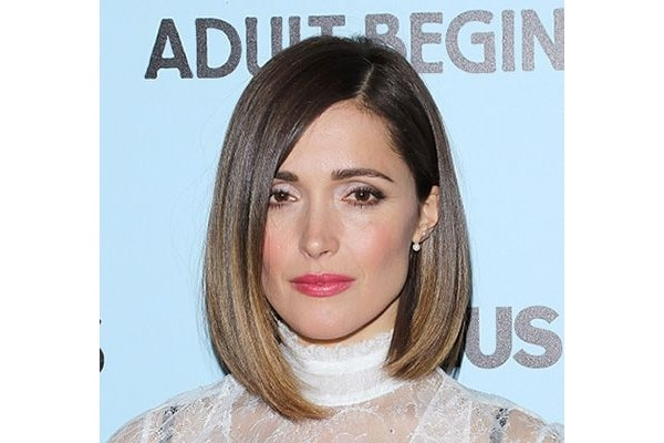 Sleek One Length Haircut Style