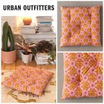 Shop Urban Outfitters 2020 Ss Flower Patterns Ethnic Decorative Pillows By Creaw Buyma