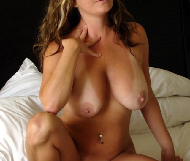 Natural Milf With Tan Lines Porn Photo