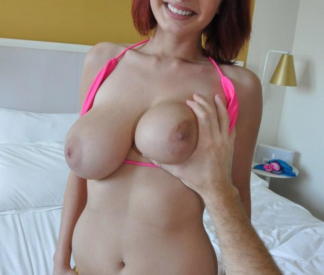 Jessica Robbin Huge Tits Redhead Porn Photo