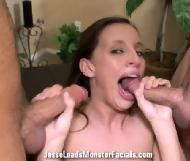 Double Cum Load On Her Face