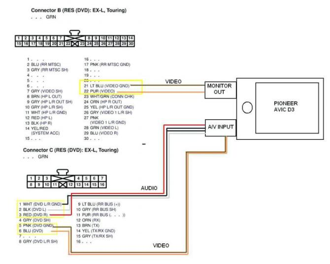 wiring diagram for pioneer super tuner 3 4 channel audio