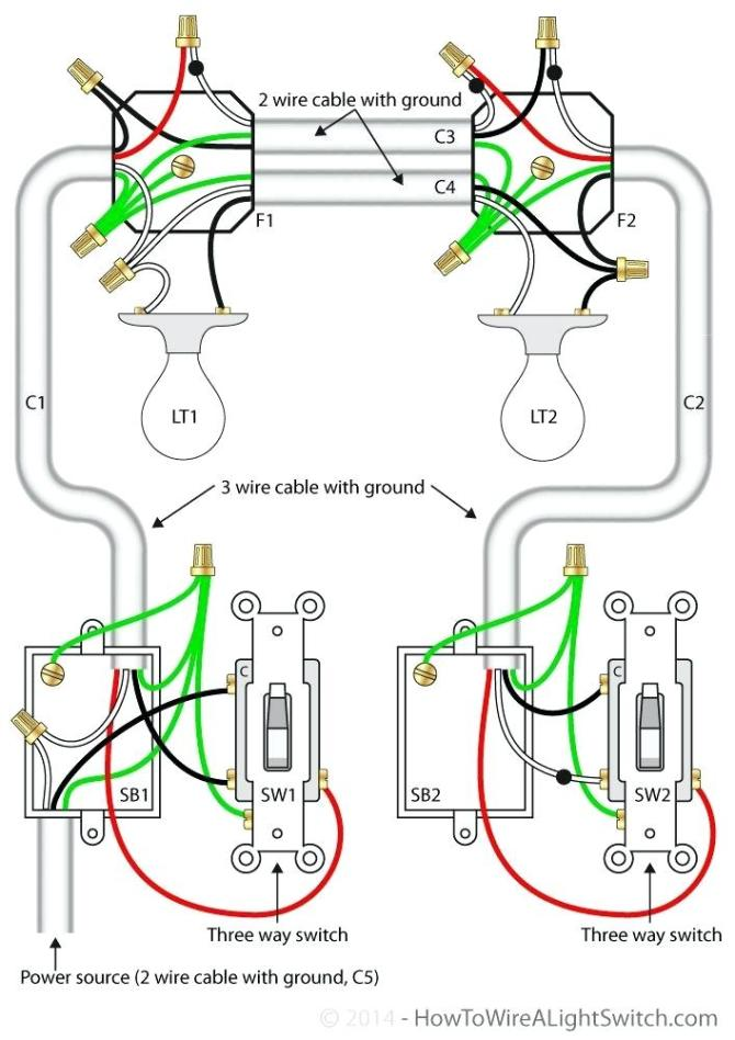 ch1293 way switch wiring diagram multiple lights how to