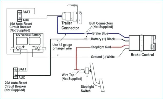 tekonsha trailer brake controller wiring diagrams  ford