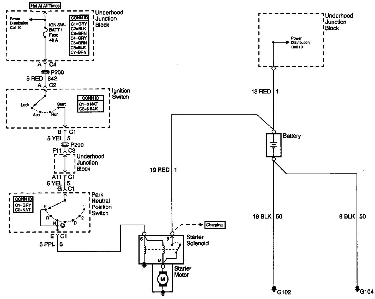 Chevy Malibu Ignition Switch Wiring Diagram