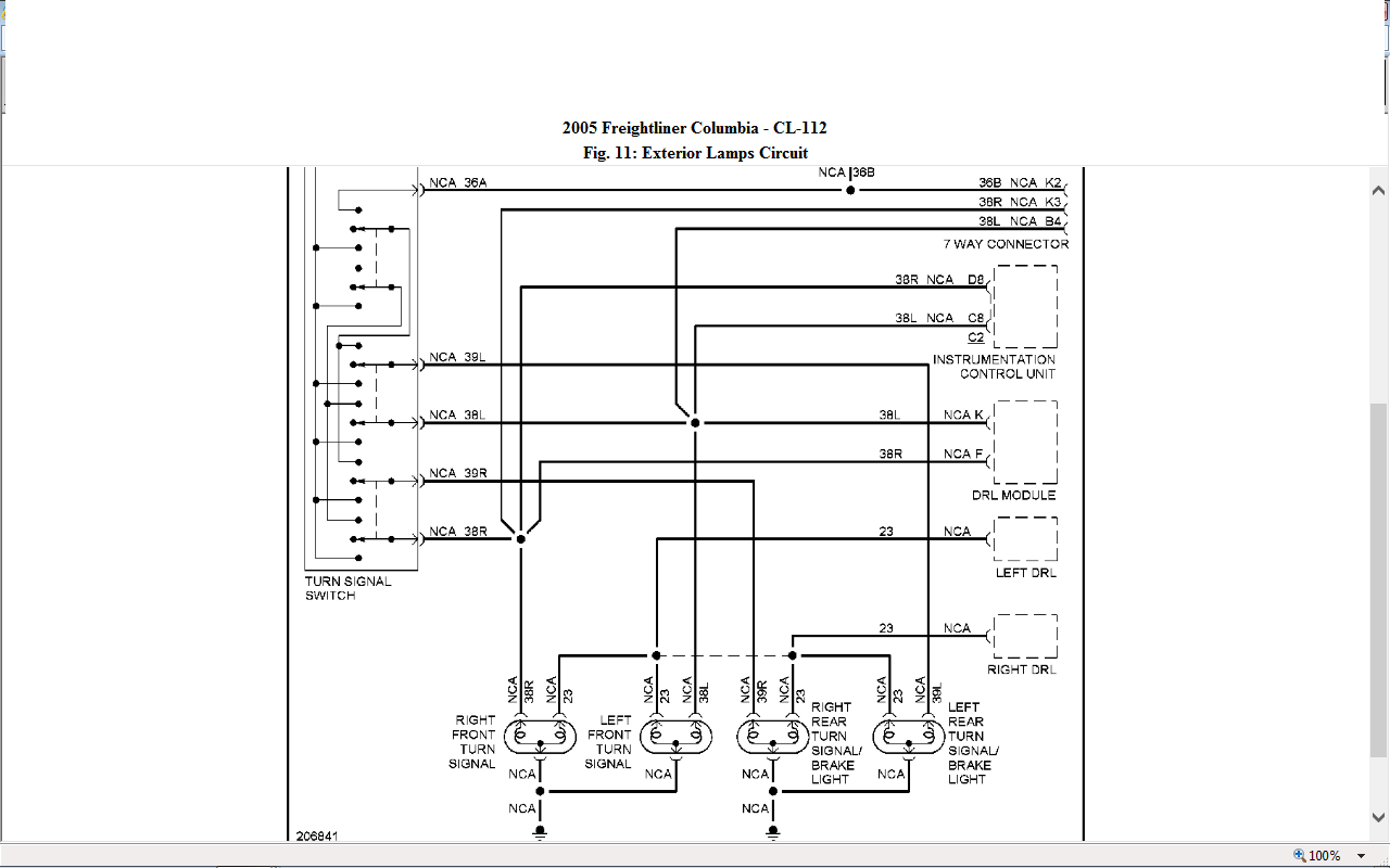 Freightliner Columbia Headlight Wiring Diagram