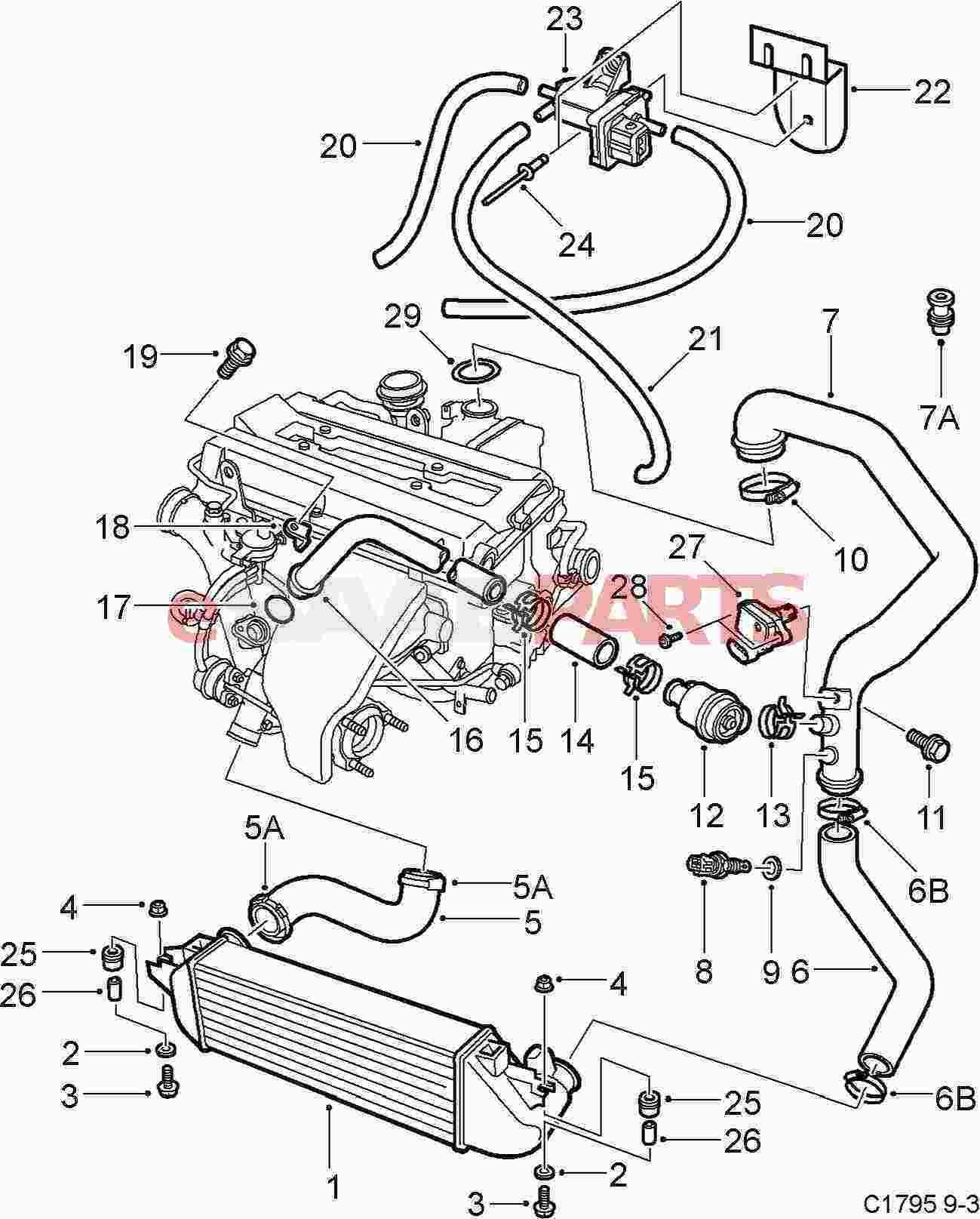 Saab 900 Turbo Wiring Diagram