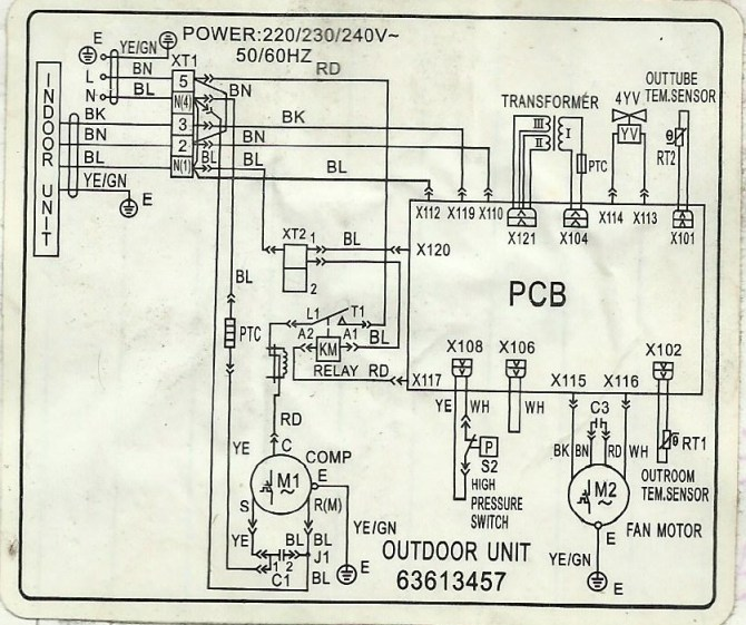 capacitor for carrier ac wiring diagram free picture  2005