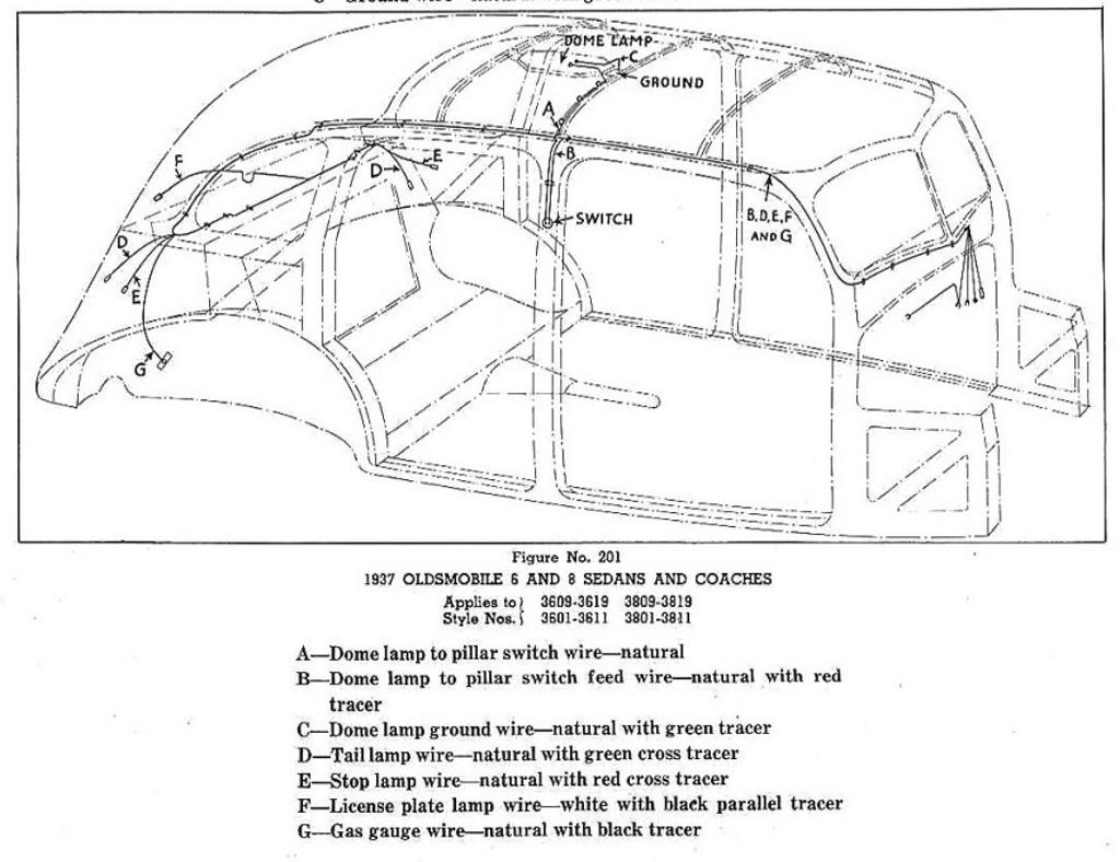 Cd Body Wiring Diagram For Oldsmobile 6 And 8