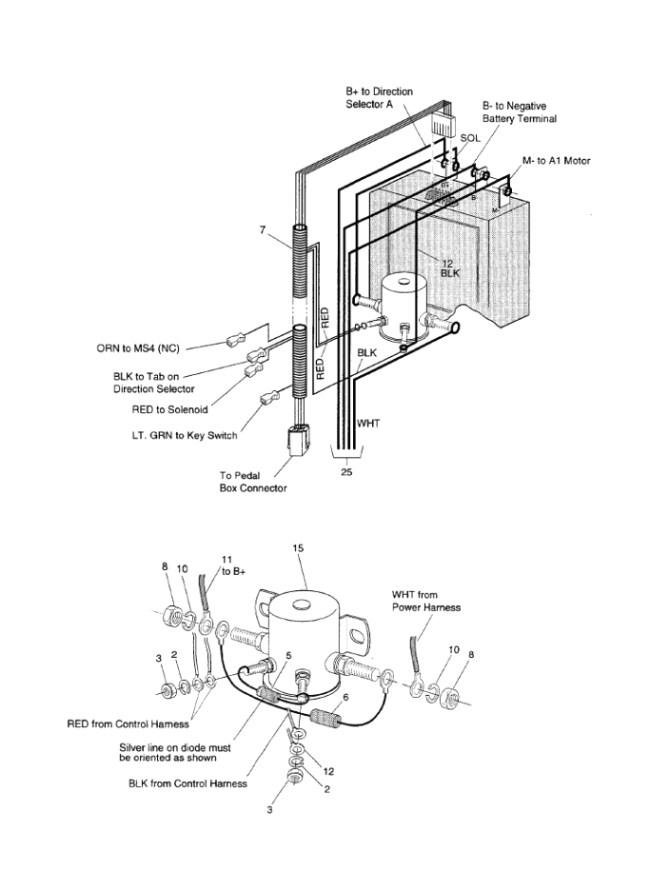 am5786 1985 ezgo golf cart wiring diagram free diagram