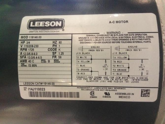leeson motor wiring diagrams  honda cb450 glenn 39s wiring