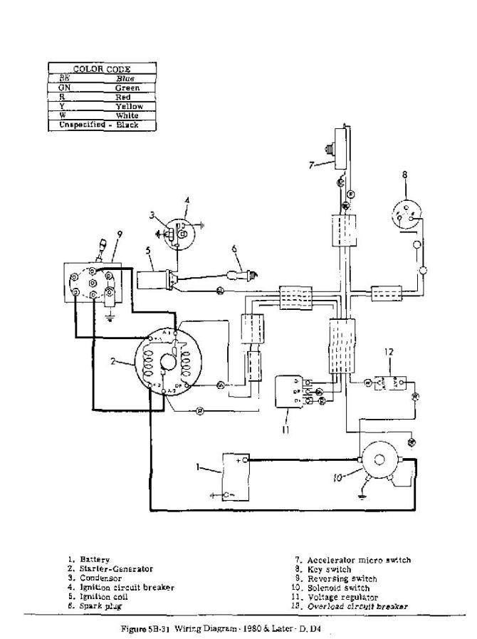 westinghouse golf cart wiring diagram  wiring onan for