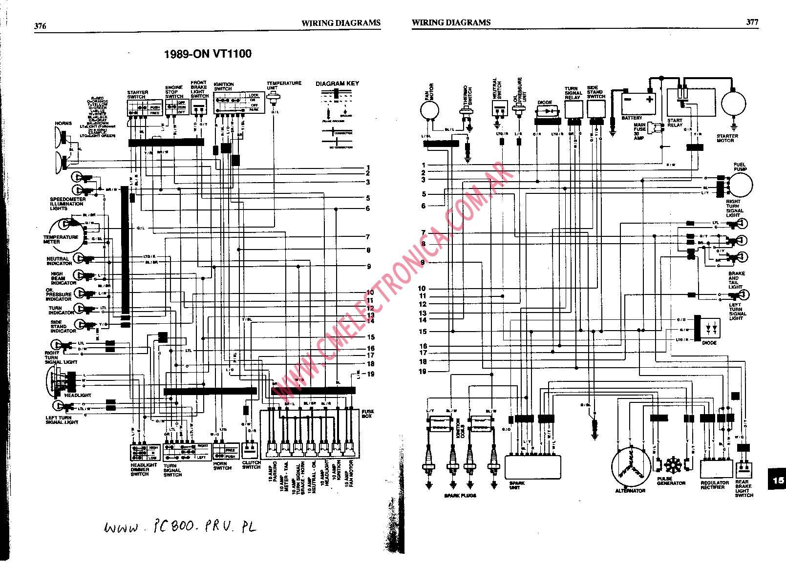 Honda Shadow Vt700 Wiring Diagram