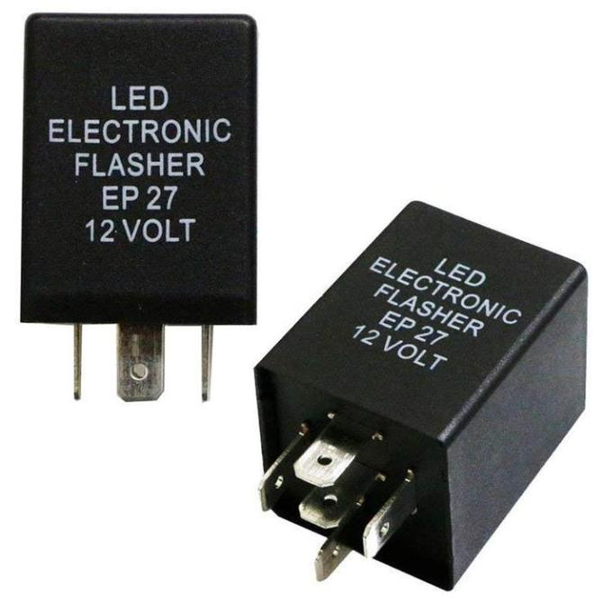 ax4393 12 volt 5 pin electronic flasher relay free diagram