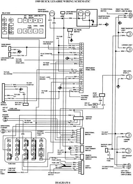 dl1398 wiring diagram 2004 buick rendezvous radio