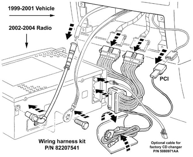 am2187 1999 jeep grand cherokee stereo wiring harness