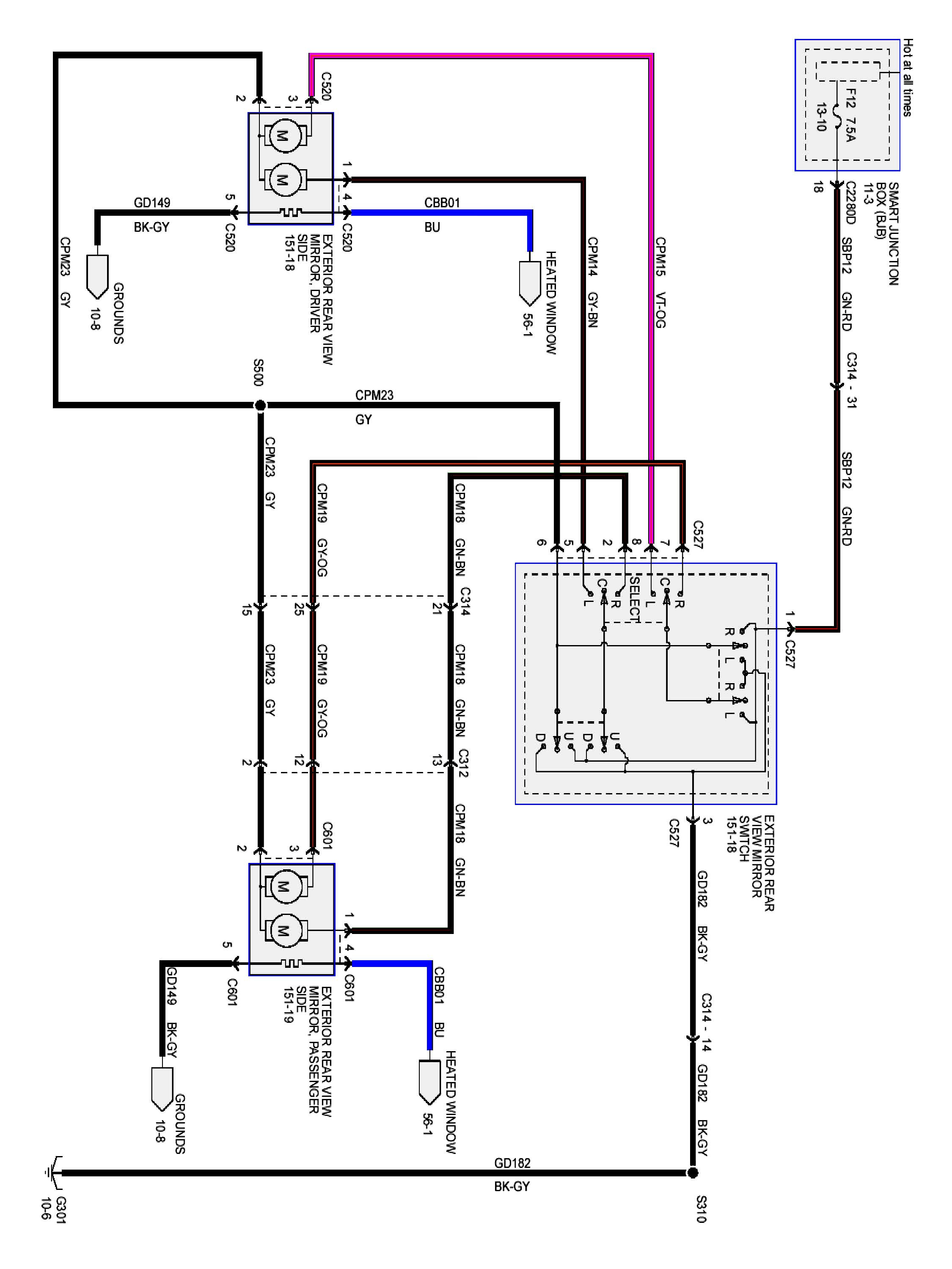 Ford Escape Wiring Diagram Collection