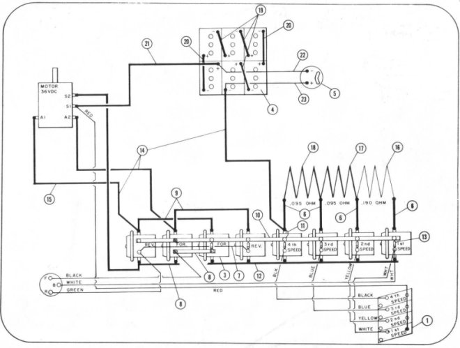 taylor dunn utility cart 36 volt charger wiring diagram