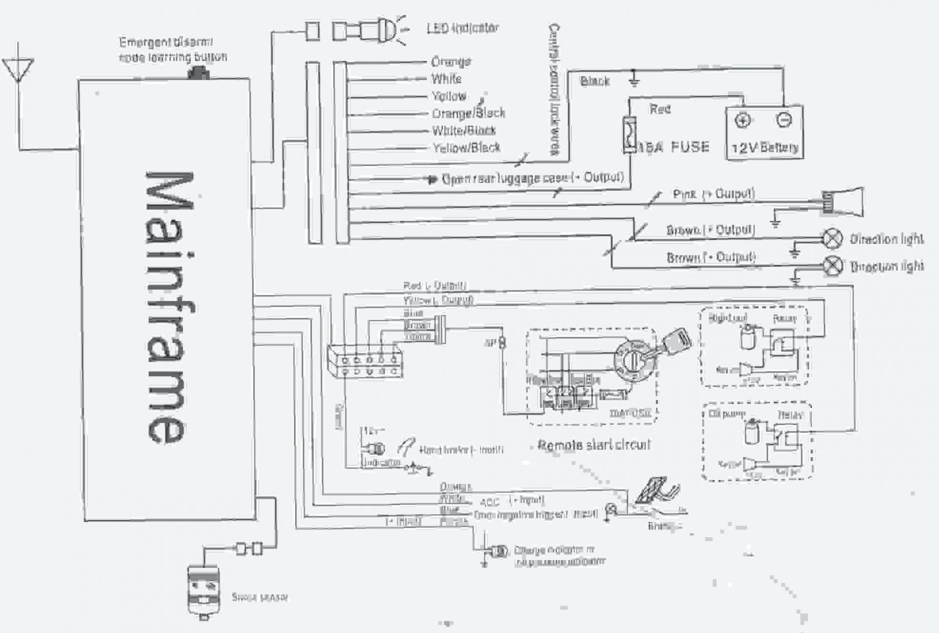 Viper Car Alarms Wiring Diagram