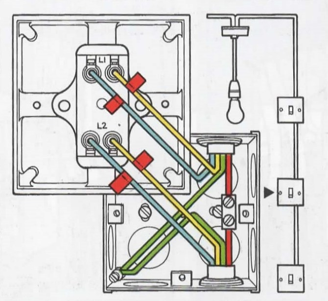 wk9880 household wiring two way switch wiring diagram