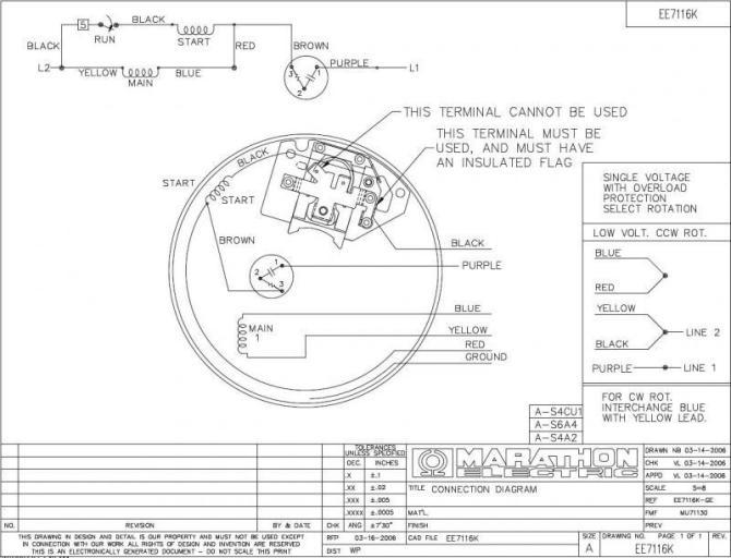 marathon electric 3 phase motor wiring diagram  best