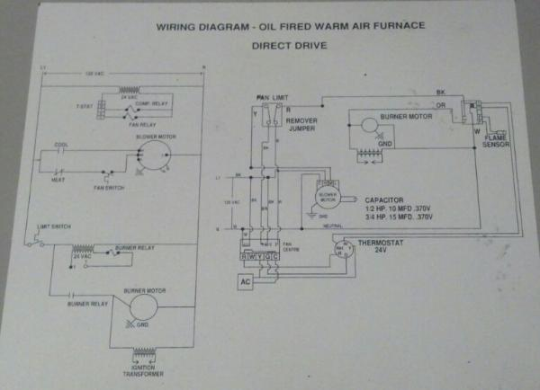 nz1759 for home heating oil furnaces wiring diagrams