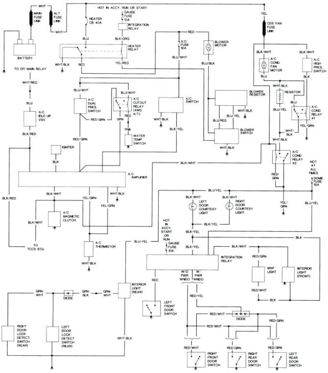 1974 toyota hilux wiring  wiring diagrams site packet