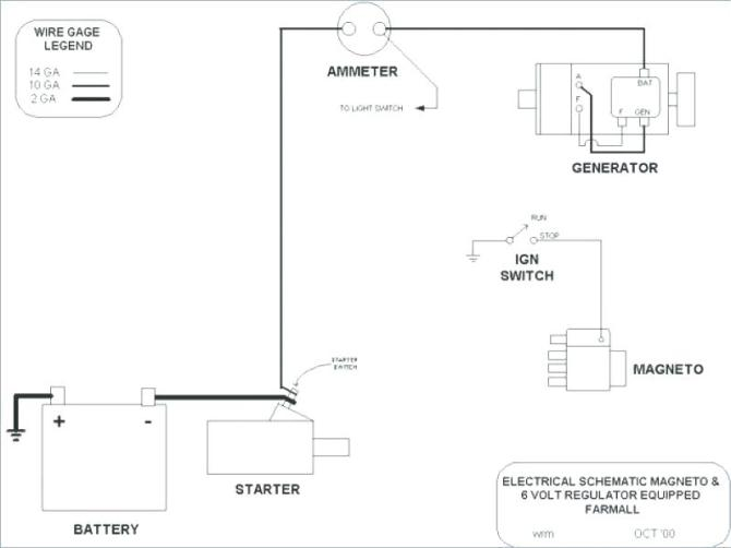 wiring diagram for farmall magneto  fuse box on ford fiesta