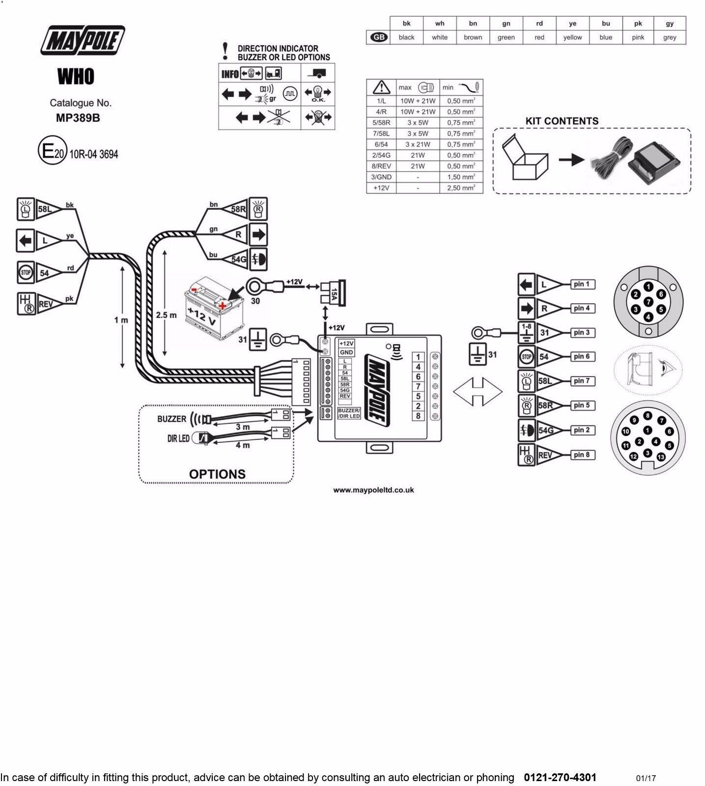 Audible Towing Relay Wiring Diagram