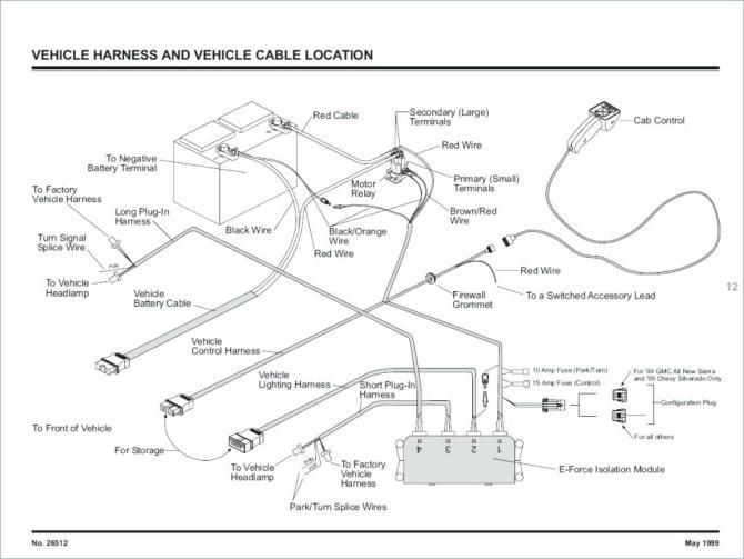 boss v plow wiring diagram 95 ford contour fuse box diagram