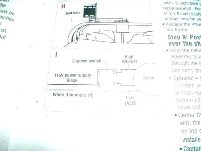 sa4496 wiring diagram for attic fan free diagram