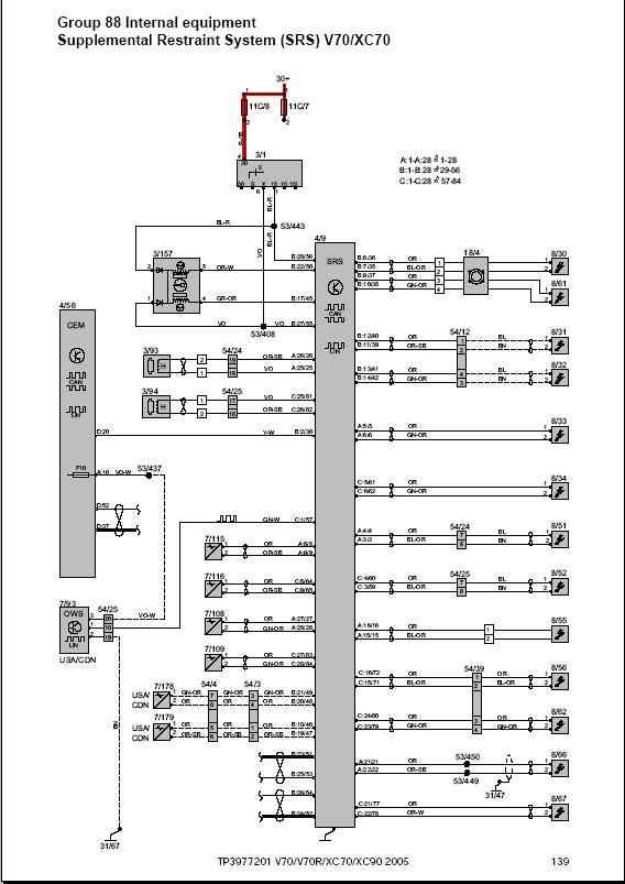 2005 volvo xc70 wiring diagram  diagrams led honda light