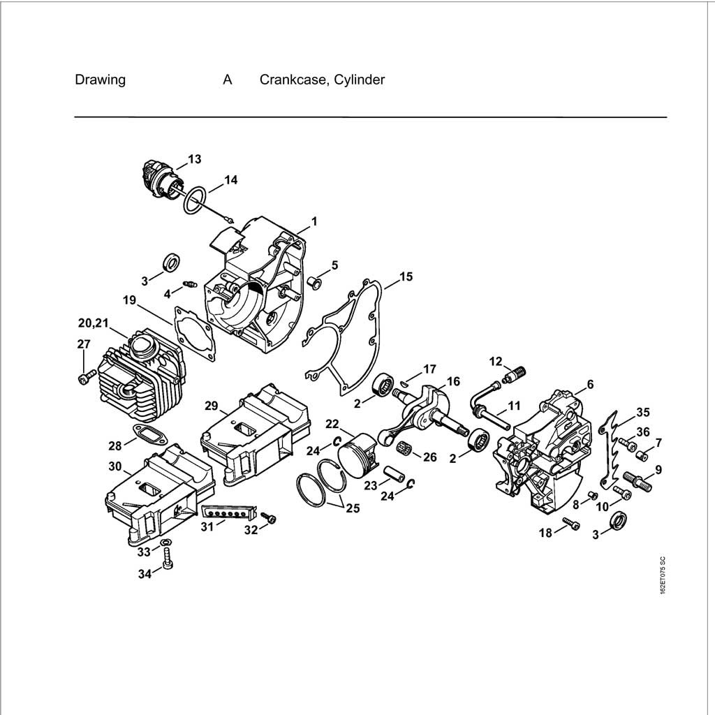 Yo 036 Stihl Chainsaw Parts Diagram Images Wiring