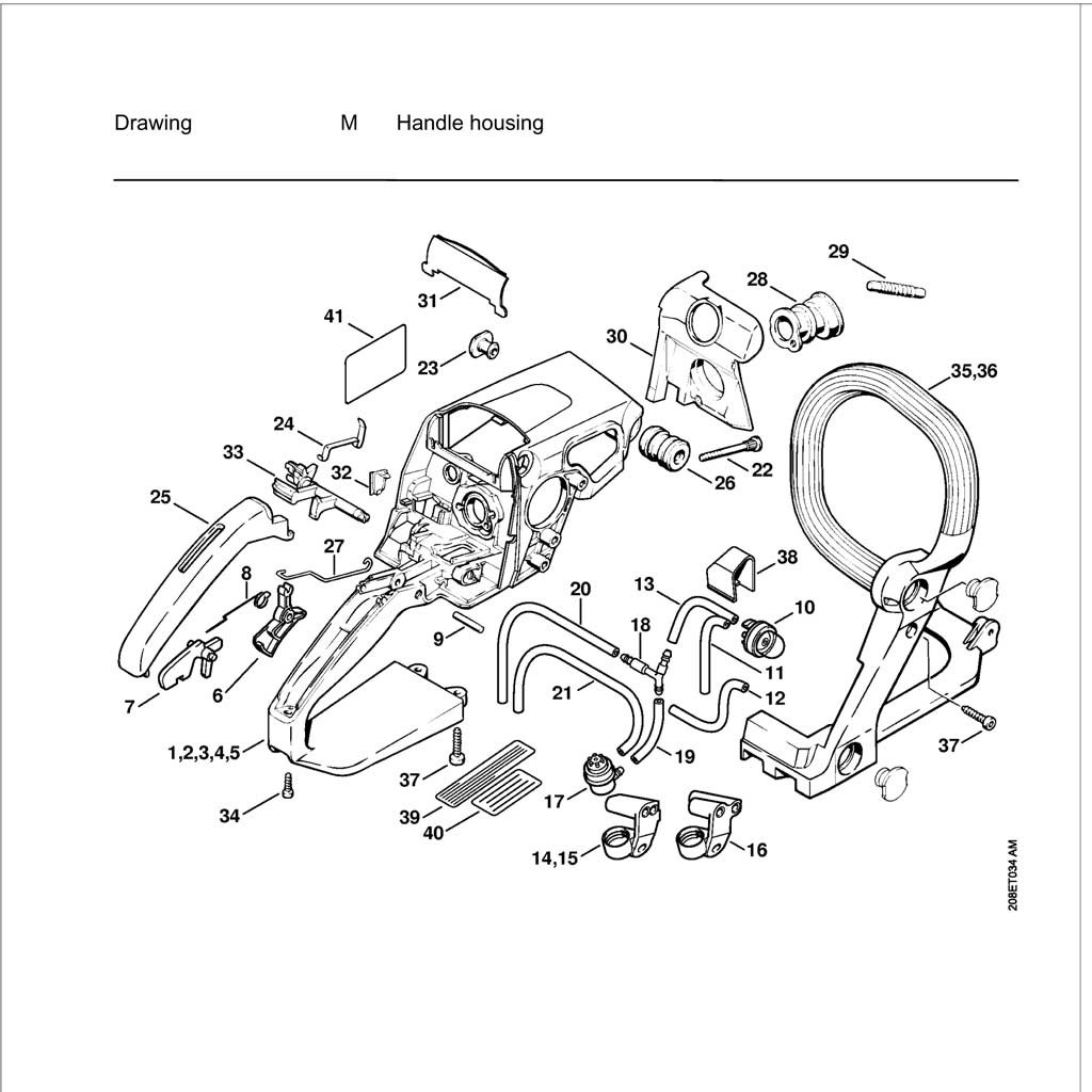 Nd Stihl Chainsaw Parts Diagram Together With Stihl
