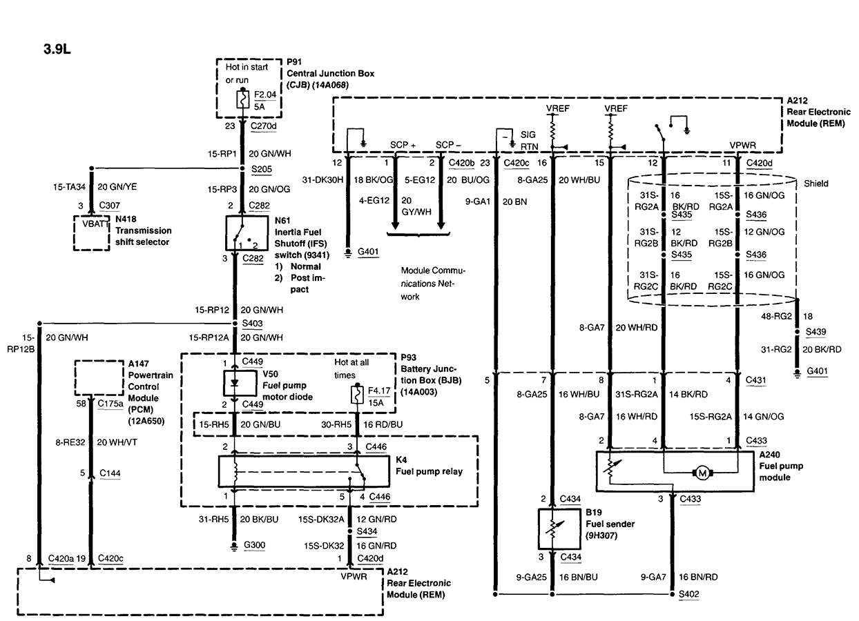 Lincoln Ls Wiring Diagram
