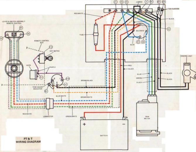 1988 evinrude ignition switch wiring diagram  honda gc160
