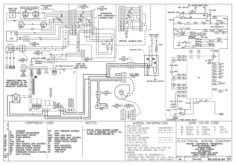 York Furnace Wiring Diagrams