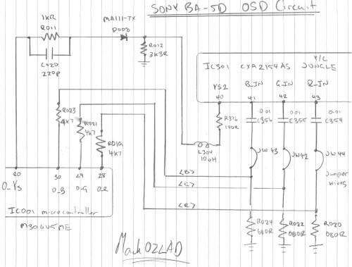 he6872 topic sony 16 pin diagram download diagram