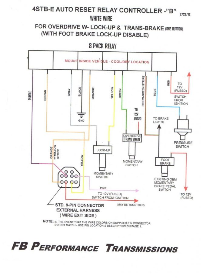 monster 4l60e transmission wiring diagram  ford 351w hei