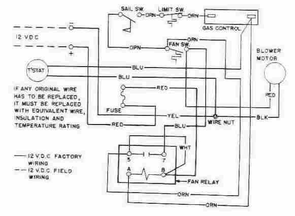 furnace blower motor wiring diagram  85 chevy truck wiring