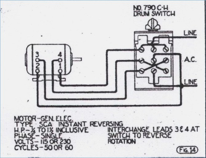 ge motor wiring diagram 115 230  480v receptacle wiring