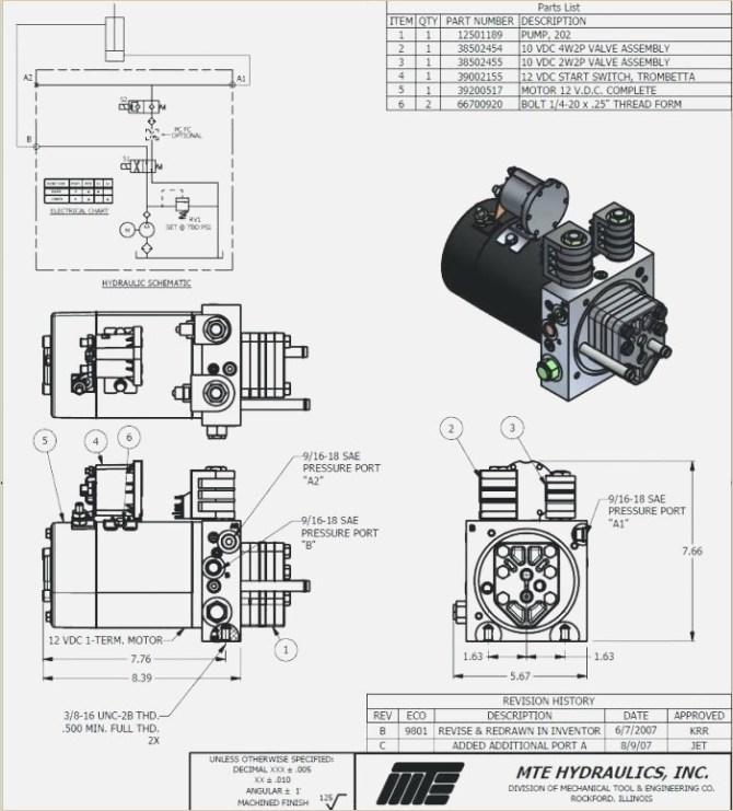 monarch hydraulics wiring diagram 2003 lincoln navigator